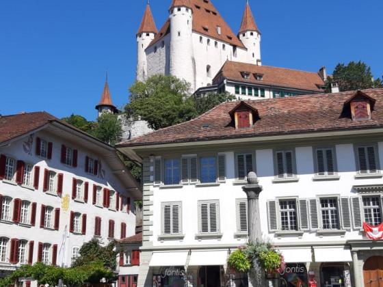 Feriengruss aus Thun / Berner - Oberland  (Kein Mofa dabei)